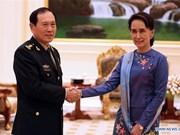 Chine et Myanmar discutent des relations bilatérales