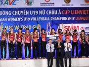 Le Japon remporte le tournoi de volley-ball féminin U19 d'Asie