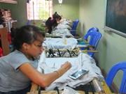 Aides étrangères pour les handicapés et enfants à Thua Thien-Hue