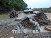Crues : Messages de sympathie du FPV aux sinistrés dans les provinces montagneuses du Nord