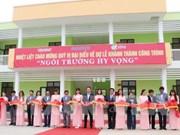 Inauguration d'une école financée par Samsung à Thai Nguyen