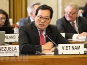 Le Vietnam souligne l'importance du désarmement nucléaire au nom du G21