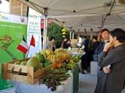 Des produits agricoles vietnamiens présentés au marché international de Rungis à Paris