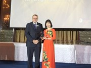 "Vietcombank reçoit le prix ""Mobile Banking Initiative of the Year''"