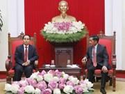 Vietnam-Laos : Renforcement de la coopération entre les deux commissions du contrôle