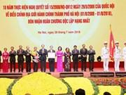 Célébration des dix ans de l'élargissement des limites administratives de Hanoi
