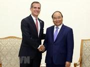 Le Vietnam considère les Etats-Unis comme l'un de ses partenaires de premier plan