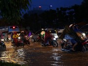 Inondations dans plusieurs sites de la capitale Hanoï