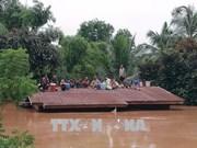 Barrage effondré au Laos: l'Armée populaire du Vietnam aux côtés des sinistrés