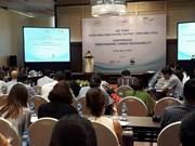 Conférence à propos de la banque verte orienté vers la durabilité
