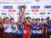 Le Vietnam devient champion du tournoi international Vinaphone U23