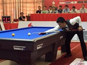 Billard: 64 joueurs participeront au tournoi international de Binh Duong