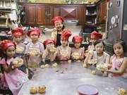 Mi-automne: un atelier de fabrication de gâteaux de lune pour les enfants