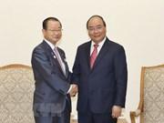 Nguyen Xuan Phuc reçoit une délégation de la Chambre des représentants du Japon