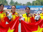 ASIAD 2018 : le Vietnam grimpe à la 14e place après cinq jours de compétition