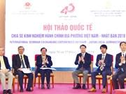 Vietnam et Japon partagent des expériences dans l'administration locale