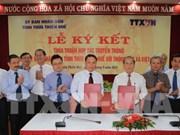 VNA et Thua Thien-Hue signent un accord de coopération dans la communication