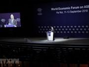 Ouverture du Forum WEF ASEAN 2018 à Hanoï