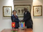 Vietnam-Afrique du Sud : coopération dans la prévention et la lutte de la criminalité
