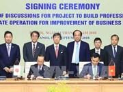 Vietnam et Japon coopèrent dans la construction de l'e-gouvernement