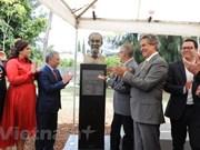 Inauguration d'un buste du Président Ho Chi Minh à Guadalajara (Mexique)