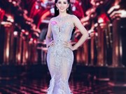 """Les """"princesses"""" sur la scène de la finale du concours """"Miss Vietnam 2018"""""""