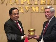 Intensification du partenariat stratégique intégral entre le Vietnam et la Russie