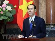 Des dirigeants étrangers rendent hommage au président Tran Dai Quang