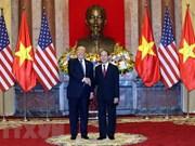 Photos du président Tran Dai Quang avec des dirigeants étrangers