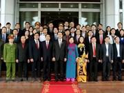 Le président Tran Dai Quang et ses sentiments accordés à Ninh Binh