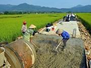 La vidéoconférence sur l'agriculture, la paysannerie et la ruralité aura lieu en novembre