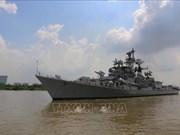 Le destroyer Ins Rana de la Marine indienne au Vietnam