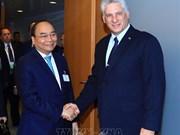 AG de l'ONU : le PM rencontre des dirigeants étrangers