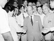 Secrétaire général du PCV Do Muoi : un élève digne du Président Ho Chi Minh