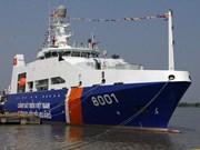 Exercice conjoint entre les garde-côtes du Vietnam et de l'Inde