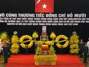 Funérailles nationales pour l'ancien secrétaire général Dô Muoi