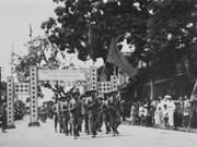 Salutations aux troupes de victoire lors du jour de la libération de Hanoi