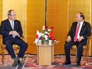 Le PM Nguyen Xuan Phuc reçoit un certain nombre de grandes entreprises japonaises