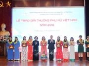 Femmes : des collectifs et des individus exemplaires à l'honneur