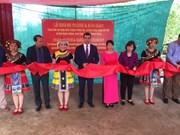Inauguration d'une école primaire construite avec l'aide azerbaïdjanaise à Ha Giang