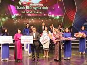 """Ho Chi Minh-Ville : près de 40 milliards de dongs en faveur du fonds """"Pour les pauvres"""""""