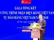 Bilan du programme « Identification des produits vietnamiens » 2018