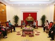 Vietnam-Cuba : pour promouvoir la coopération dans le travail des femmes