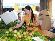 Exportation de pommes de lait Lo Ren de Tiên Giang vers les États-Unis