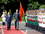 Le Premier ministre français Édouard Philippe en visite officielle au Vietnam