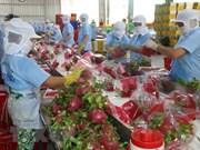 3,3 milliards de dollars des exportations de fruits et légumes de janvier à octobre