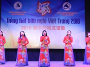 Bientôt la finale vietnamienne du festival «Chant d'amitié vietnamo-chinois» 2018