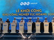 Mise en chantier de la zone industrielle FLC Hoàng Long