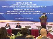 Colloque international sur la sécurité et le développement maritimes