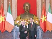 Le président irlandais en visite d'Etat au Vietnam